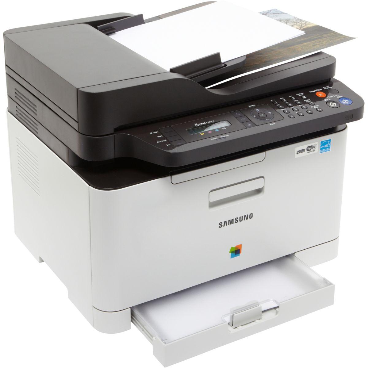 Imprimante multifonction laser couleur SAMSUNG SL-C480FW (photo)