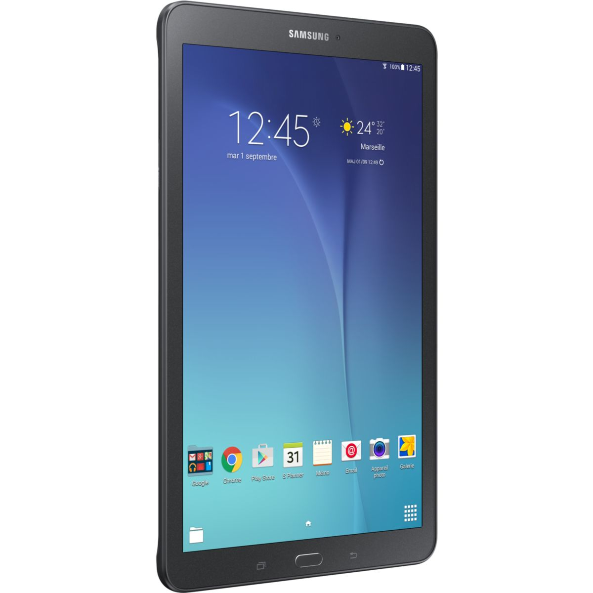 Tablette SAMSUNG Galaxy Tab E 9.6 Black (photo)