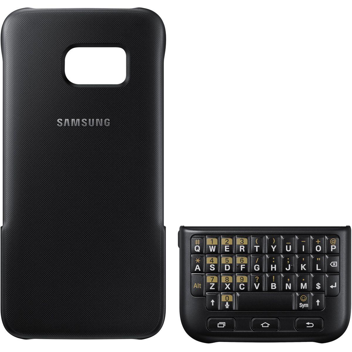 Coque SAMSUNG Keyboard S7 noir