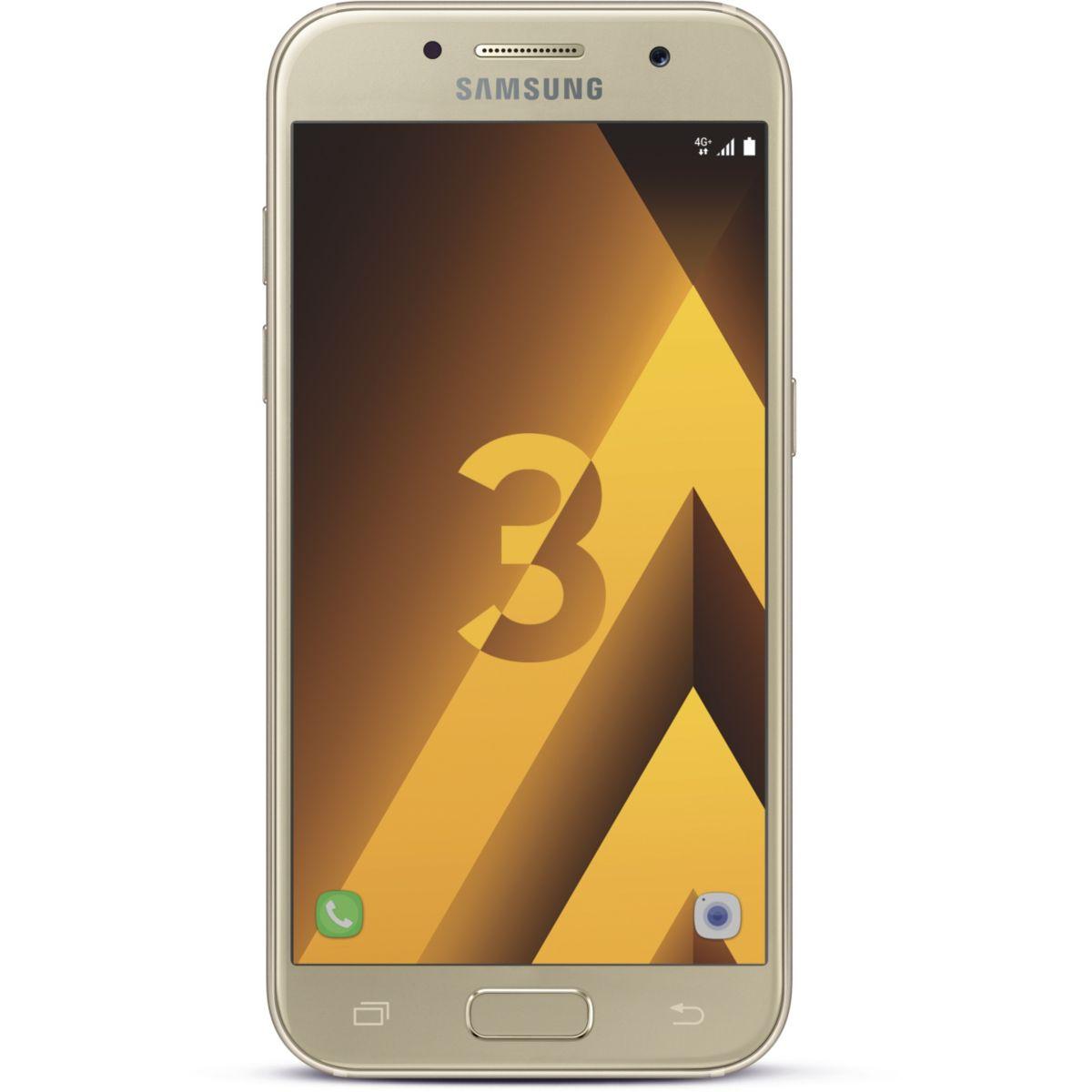 Smartphone SAMSUNG Galaxy A3 Gold Ed.2017