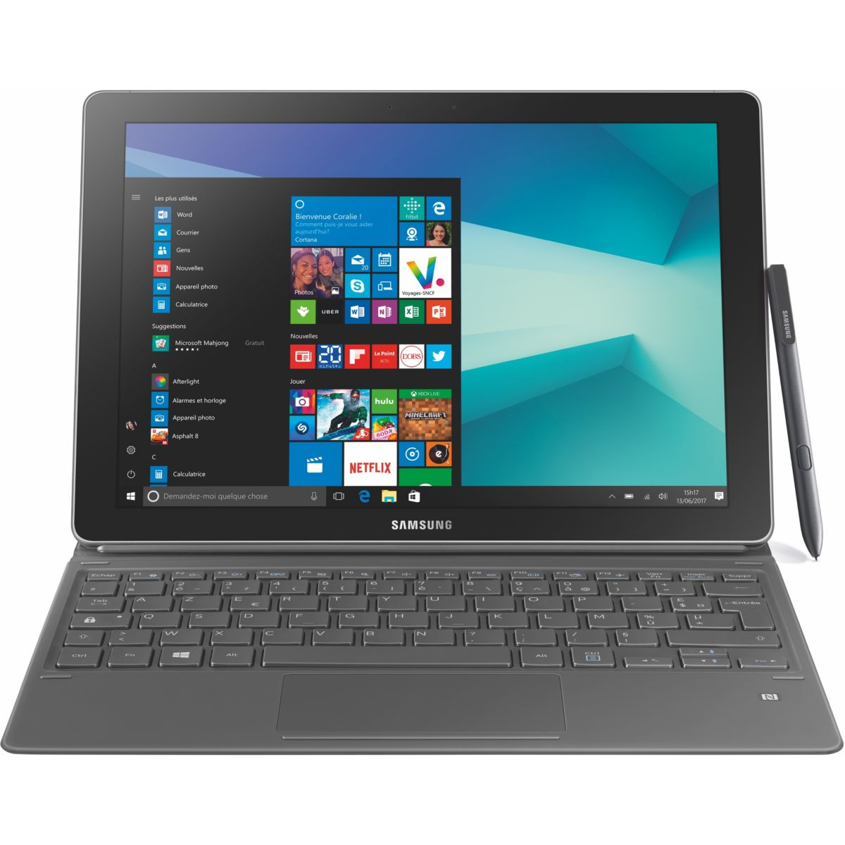 PC Hybride SAMSUNG Galaxy Book 12.0 i5 8Go 256Go