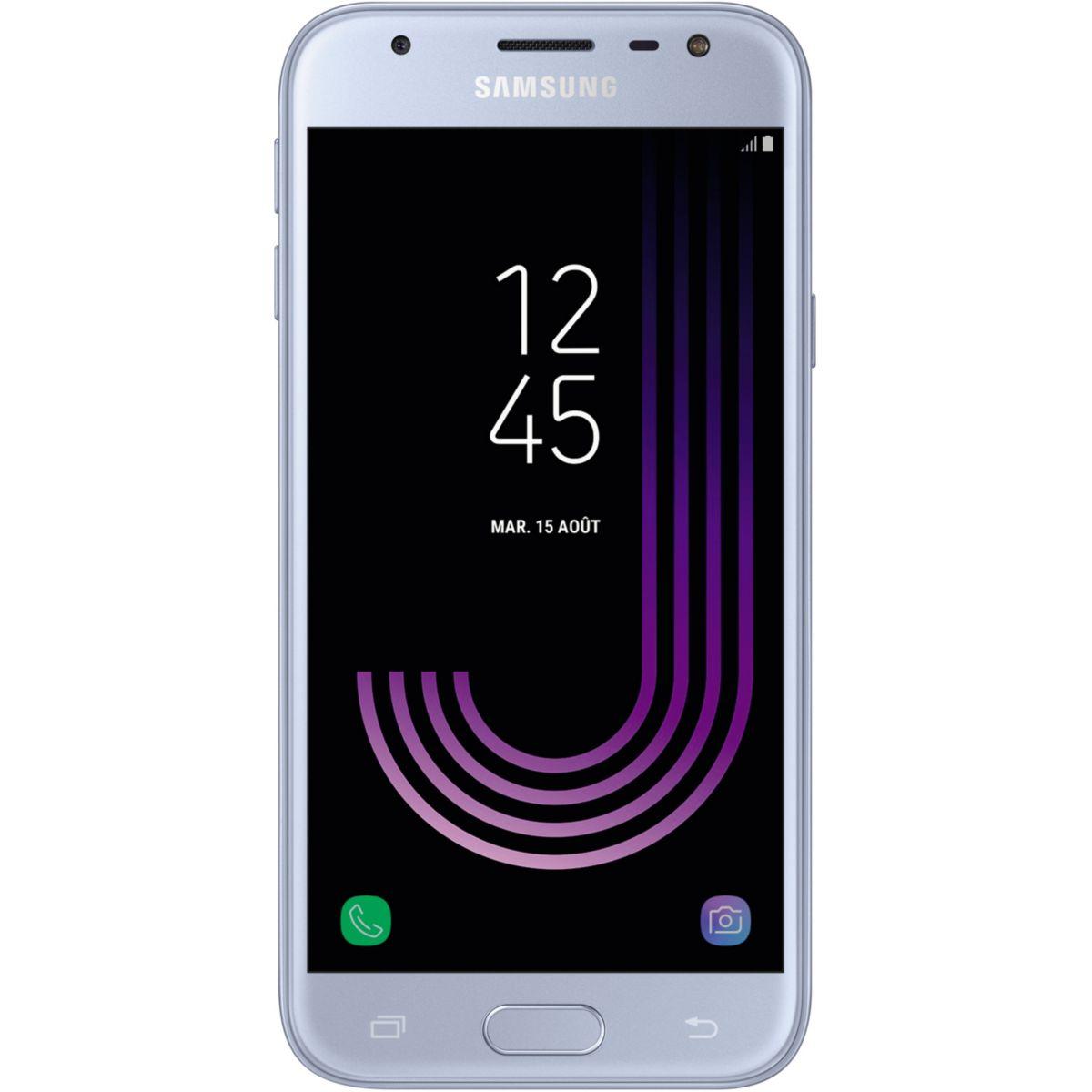 Smartphone SAMSUNG Galaxy J3 Silver Ed.2017