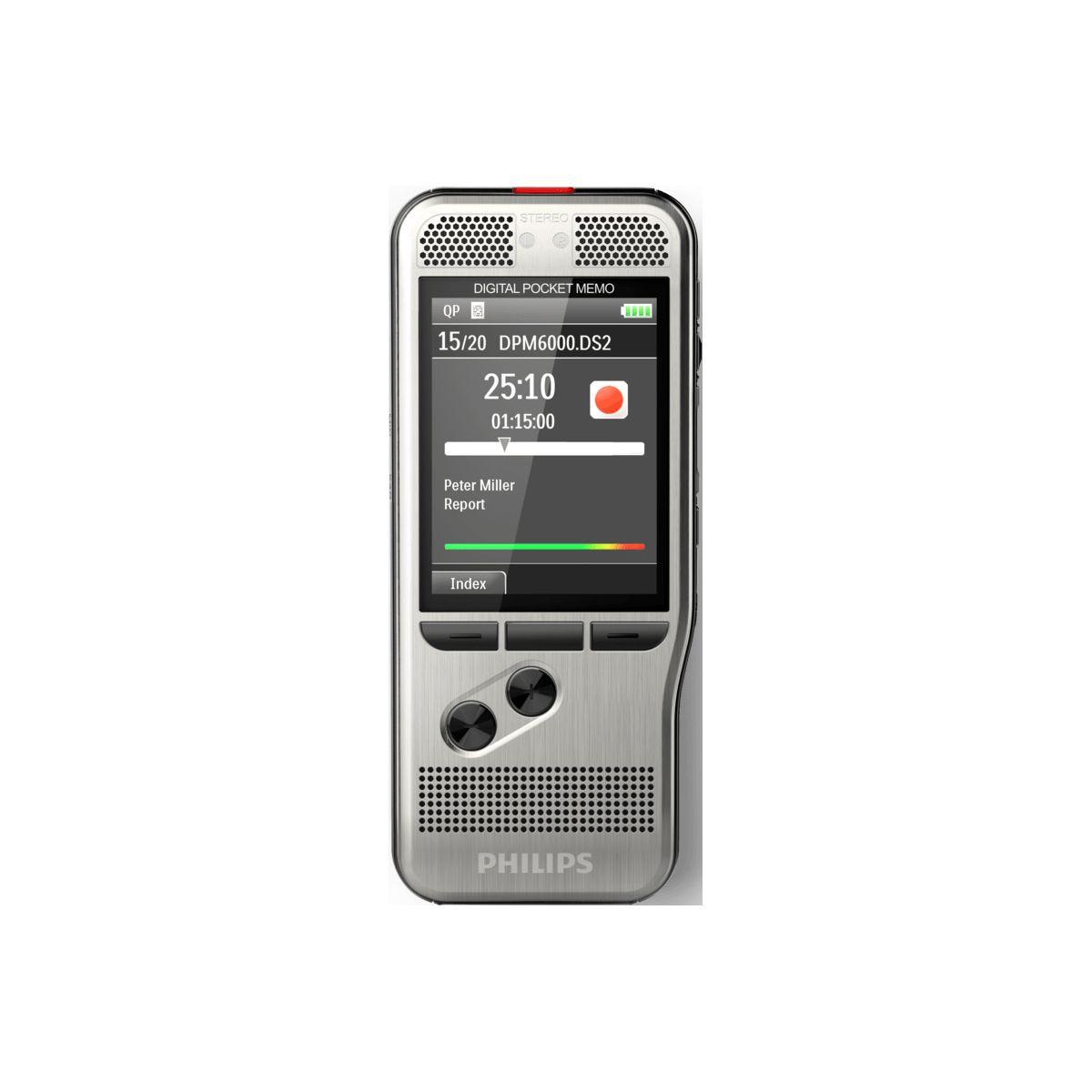 Dictaphone PHILIPS Pocket-Mémo DPM6000 (photo)