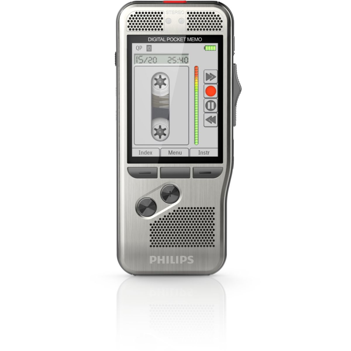 Dictaphone PHILIPS Pocket-Mémo DPM7200 (photo)