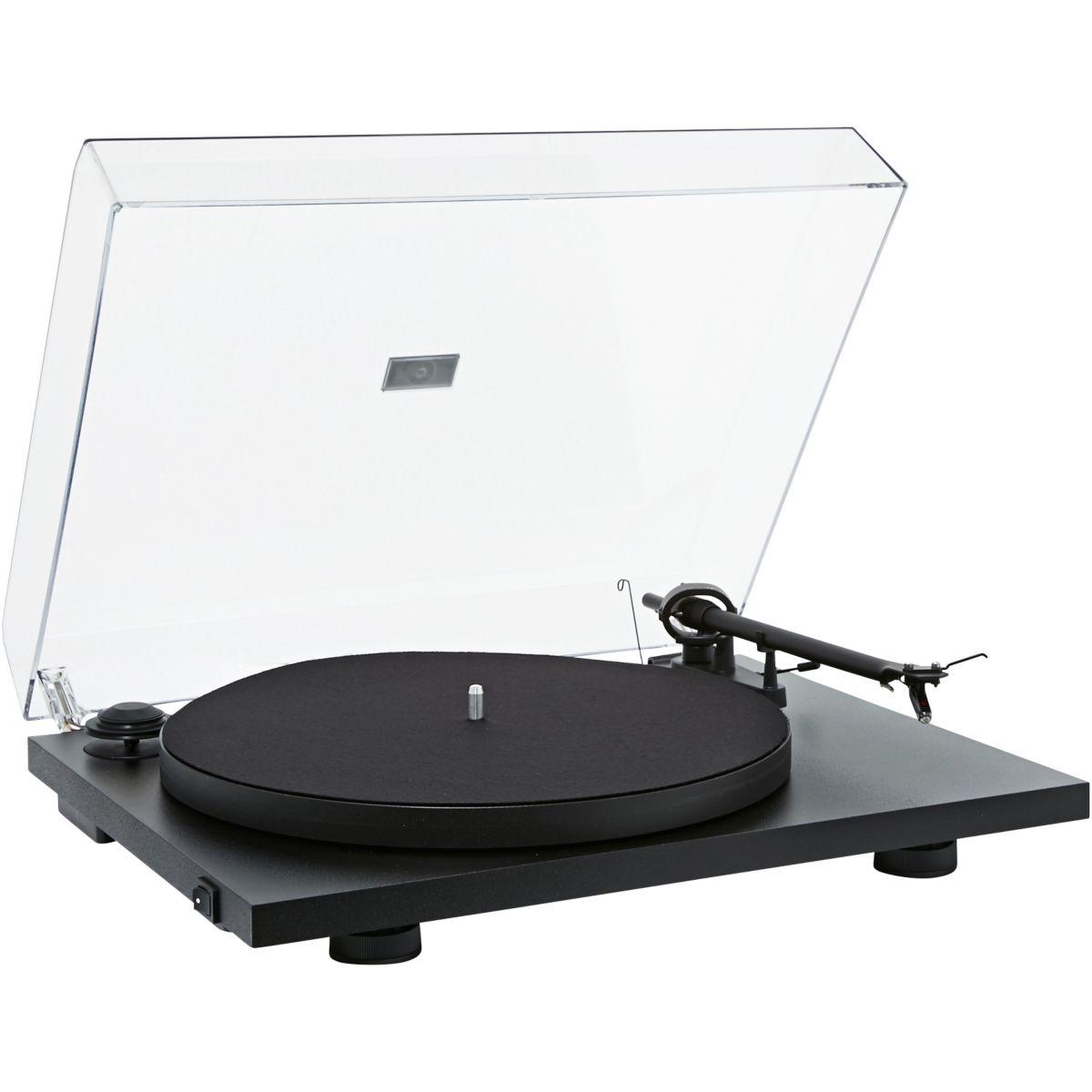 Platine vinyle PRO-JECT ESSENTIAL II BLACK OM10