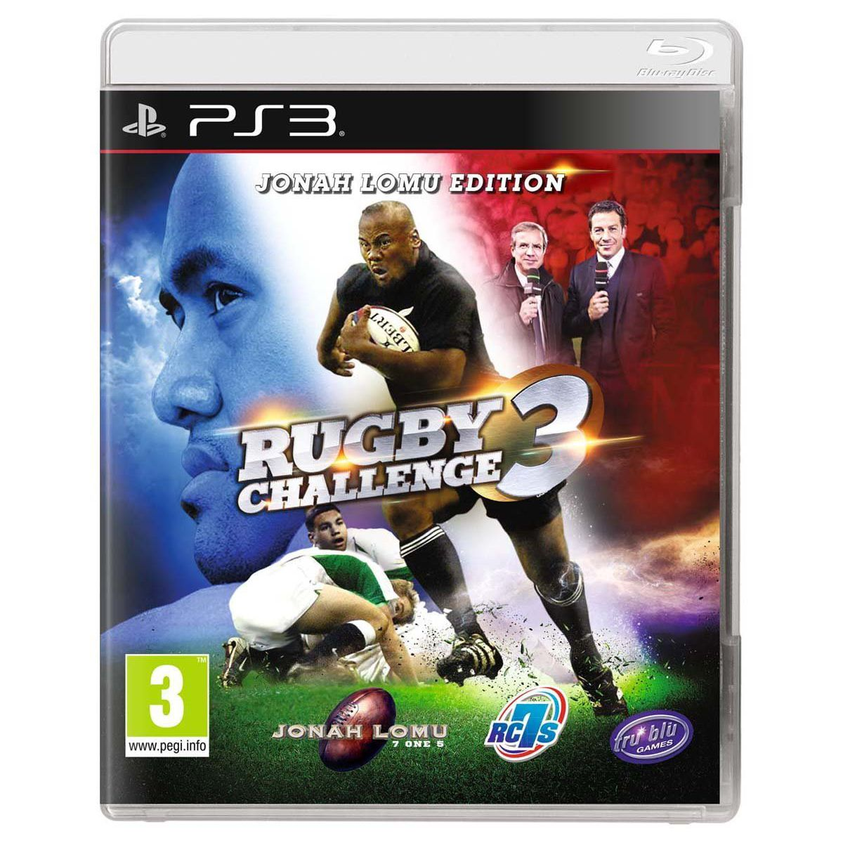Jeu PS3 BIGBEN Rugby Challenge 3
