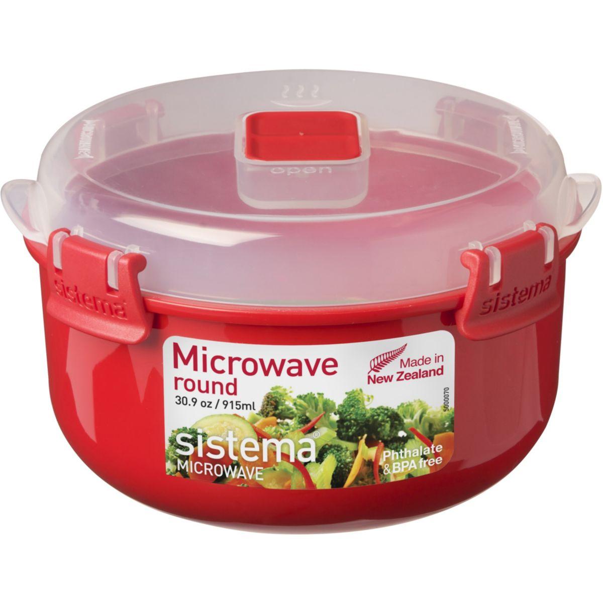 Boîte SISTEMA cuit vapeur pour micro onde 1l (photo)