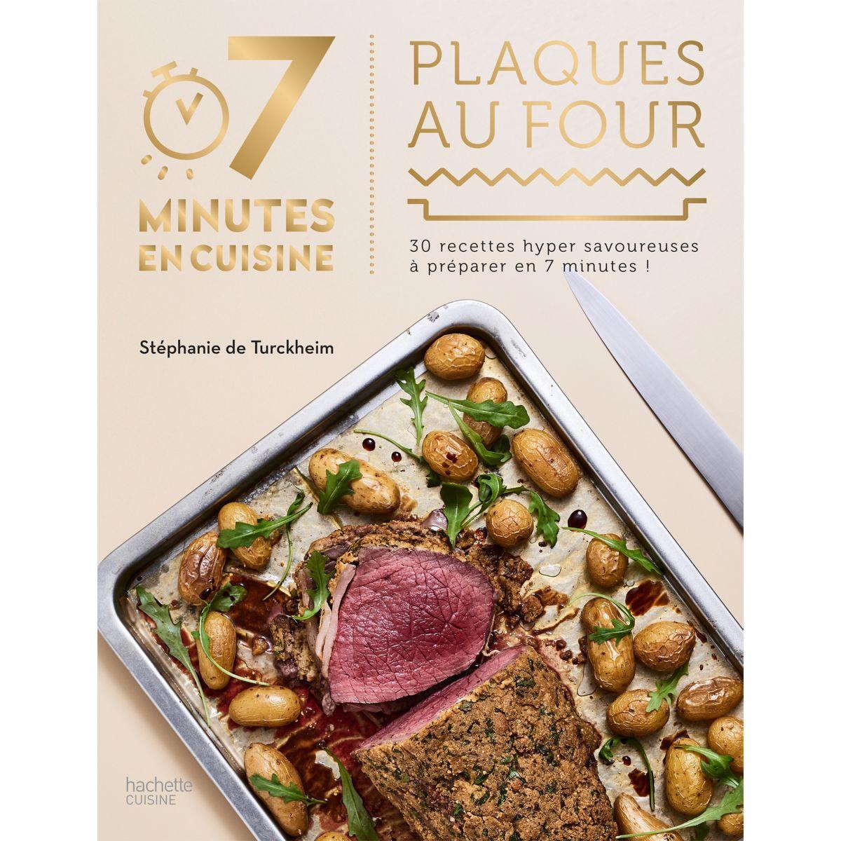 Livre HACHETTE 7 minutes en cuisine Plaq (photo)