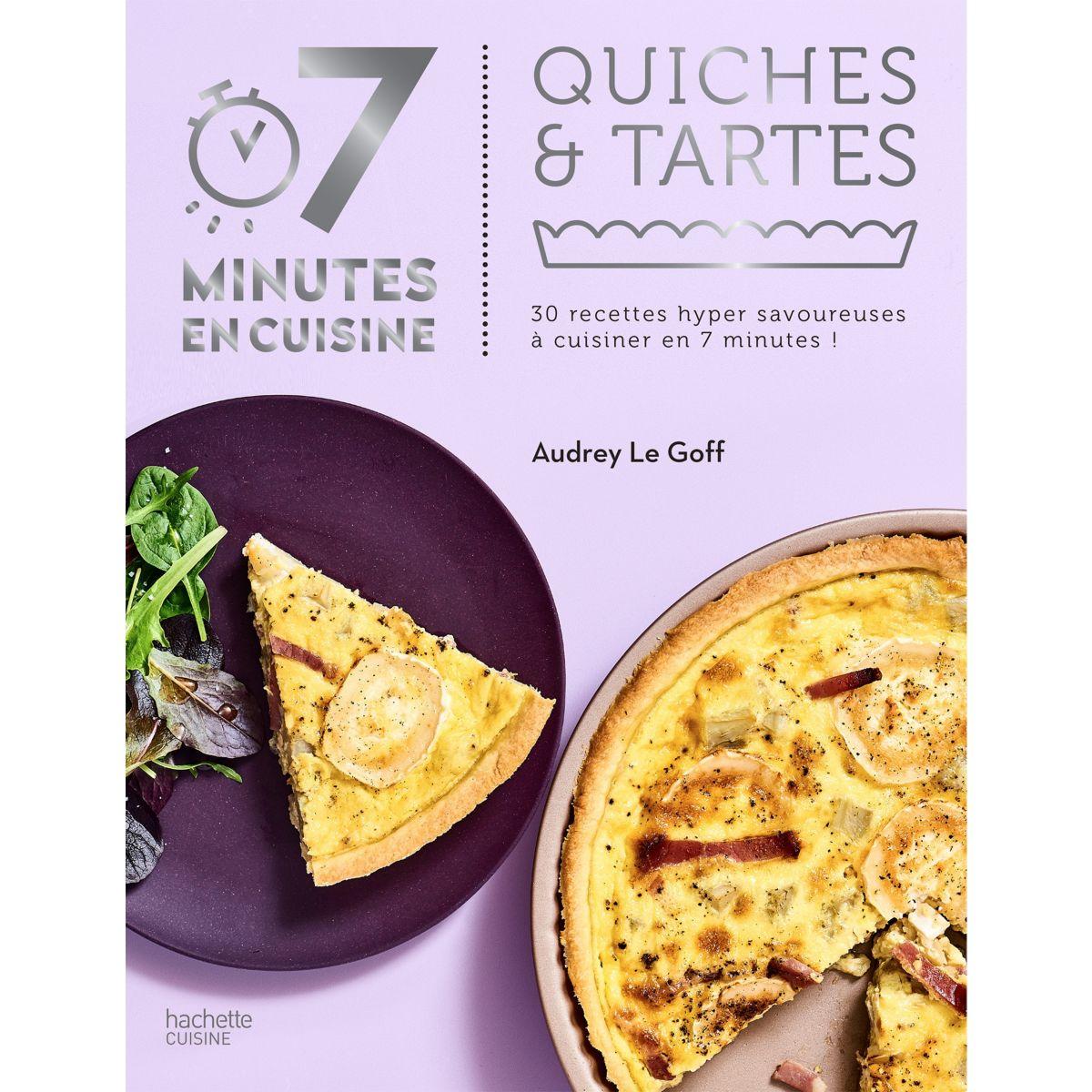 Livre HACHETTE 7 minutes en cuisine Quic (photo)