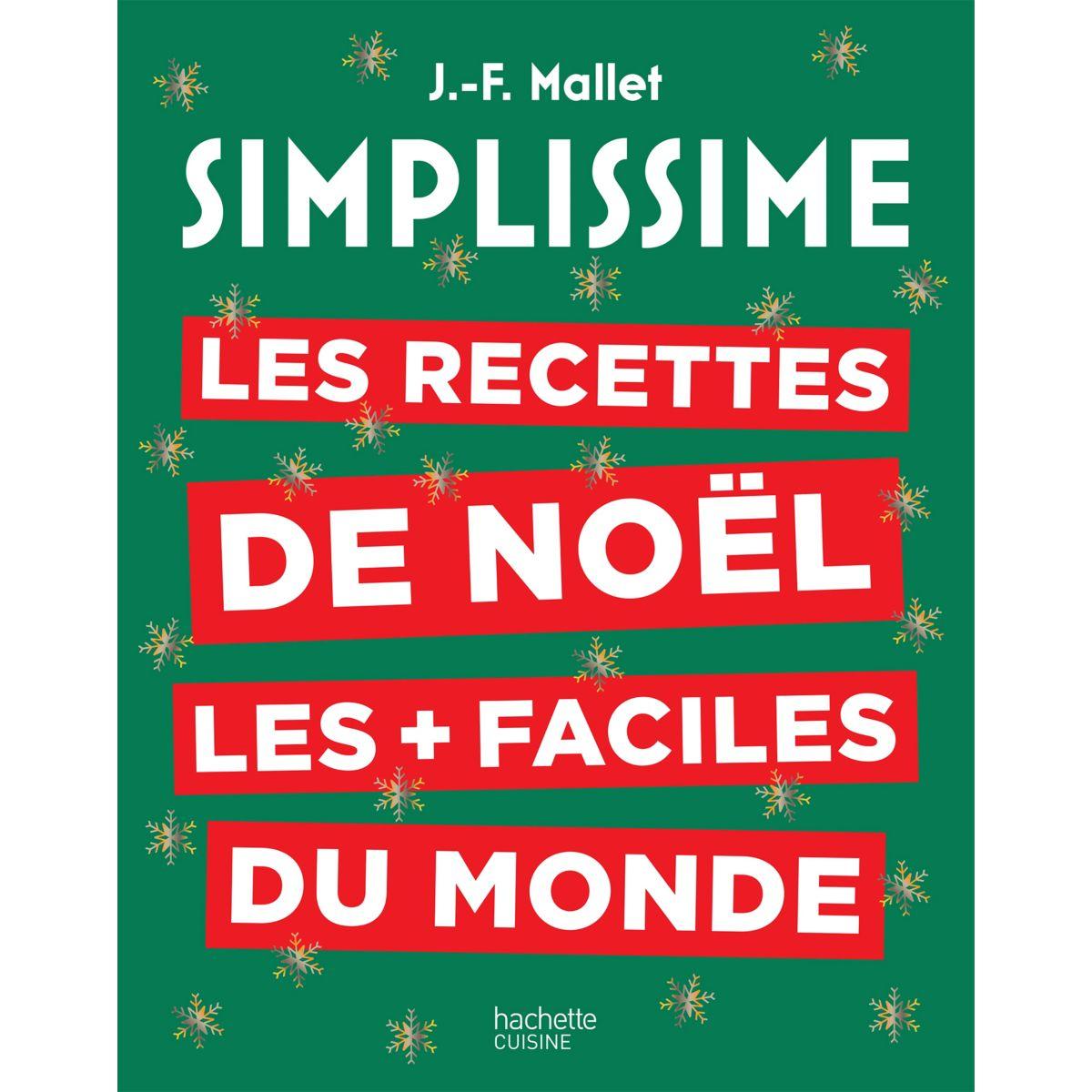 Livre de cuisine HACHETTE Simplissime Recettes de Noel