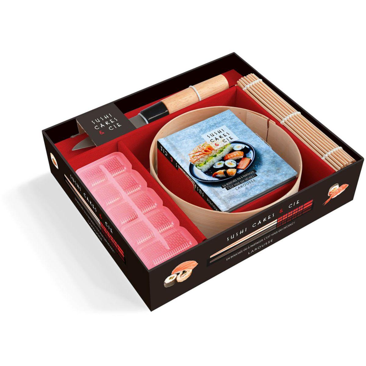 Coffret LAROUSSE Sushi cakes & cie (photo)