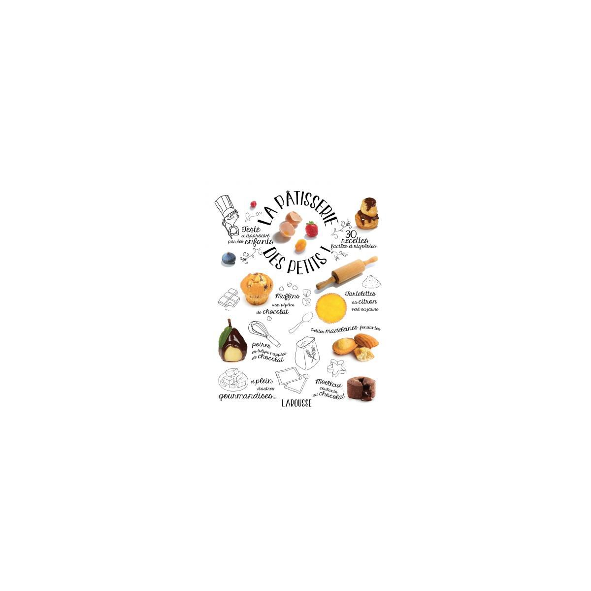 Livre LAROUSSE La pâtisserie des petits (photo)