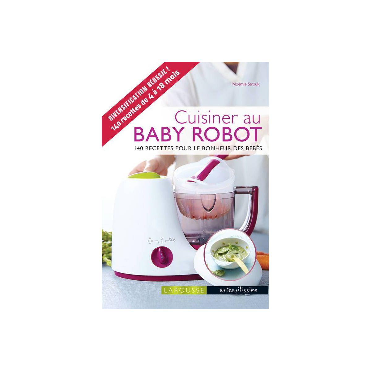 Livre LAROUSSE Cuisiner au baby robot (photo)