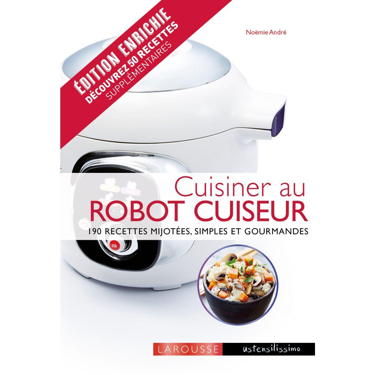 Livre LAROUSSE Cuisinier au robot cuiseur (avec recettes de plus) (photo)