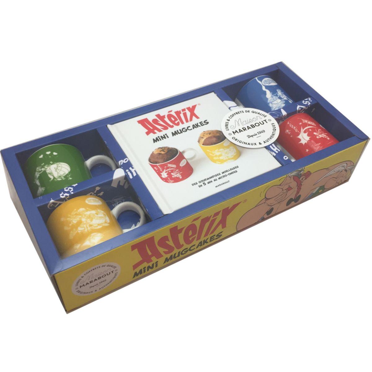 Coffret MARABOUT Mini mug cakes Astérix (photo)