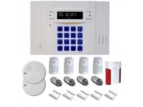 Alarme maison kit alarme maison systeme sans fil for Alarme maison iphone